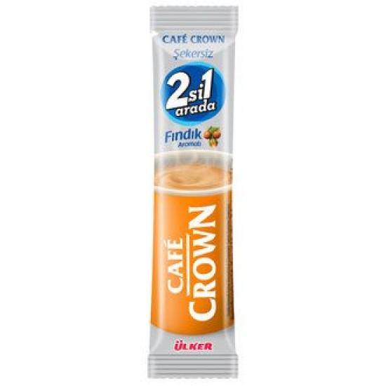 Ülker Cafe Crown Coffee- Sugar Free with Hazelnut (13 gr)