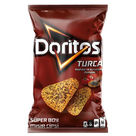 Doritos Turca Corn Chips with Tomato Sauce (113 gr)