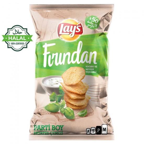 Lay's Baked Yogurt & Seasonal Greens - From Turkey Halal (134 g)