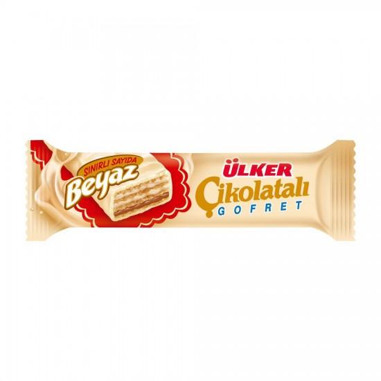Ulker White Chocolate Wafer (35 gr)