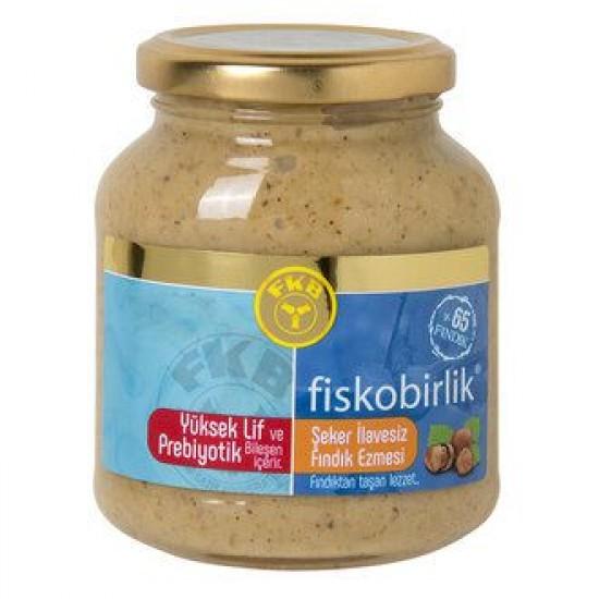 Fiskobirlik Hazelnut Paste No Sugar Added (300 gr)