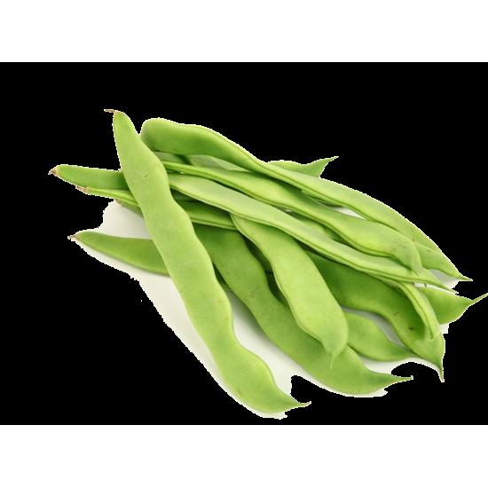 Fresh Romano Beans (1 Lb)