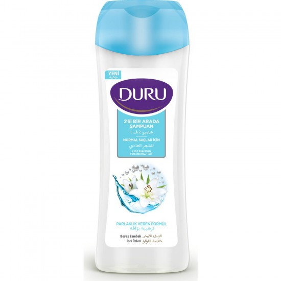 Duru 2 in 1 Shampoo for Normal Hair (600 ml)