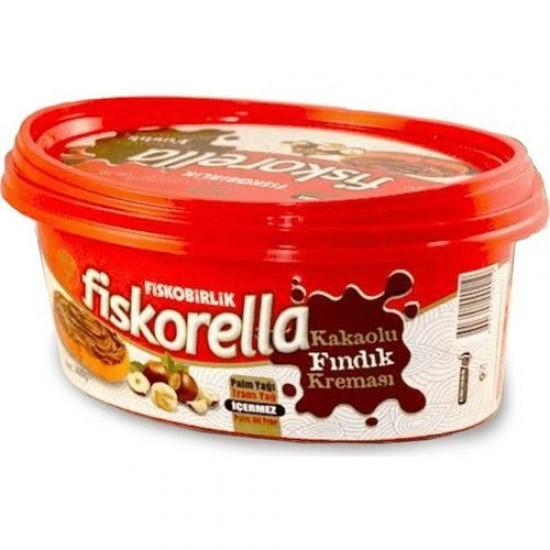 Fiskobirlik Fiskorella Cacao Spread with Hazelnut (400 gr)