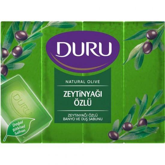 Duru Olive Oil ExtractedBath Soap Set of 4 (600 gr)
