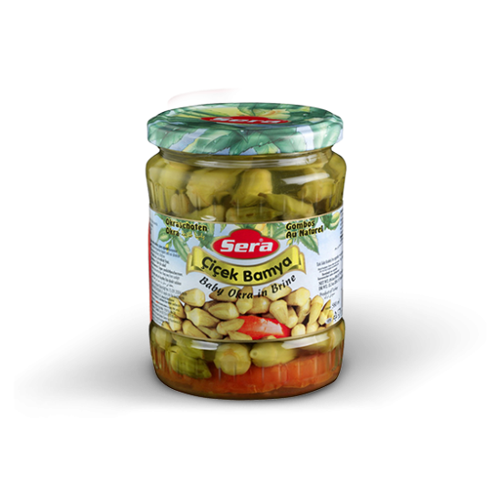 Sera Baby Okra in Brine 11.3 oz (320 g)