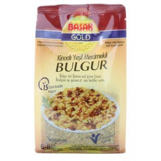 Başak Gold Quinoa Green Lentil Bulgur (360 gr)