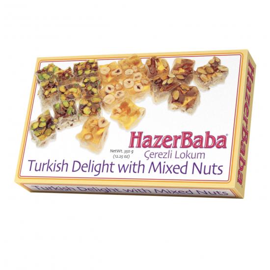 Hazerbaba Mixed Sultan Turkish Delight (350 gr)