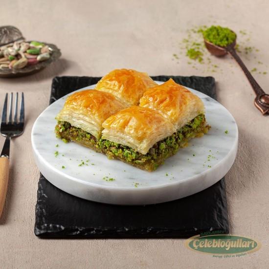 Diabetic Baklava with Pistachio From Gaziantep Celebiogullari  (500 gr)