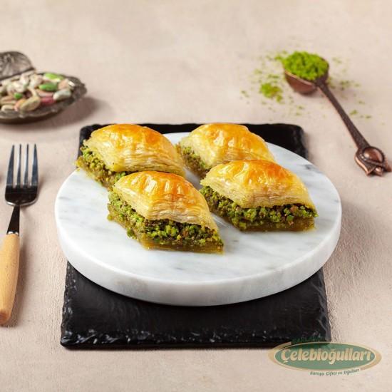 From Gaziantep Celebiogullari Baklava with Pistachio (500 gr)