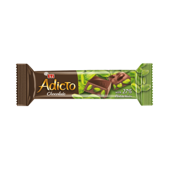 Eti Adicto Chocolate with Pistachio (30 gr)