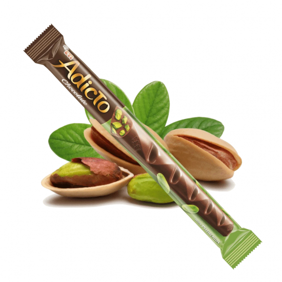 Eti Adicto Chocolate with Pistachio (34 gr)