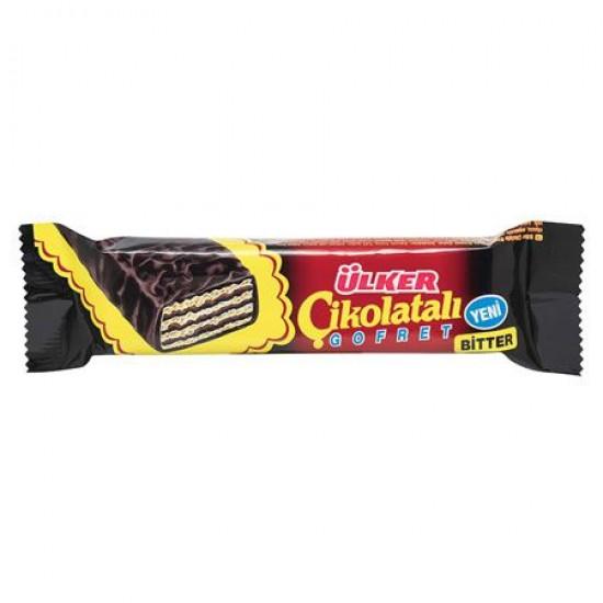 Ulker Chocolate Wafer Bitter