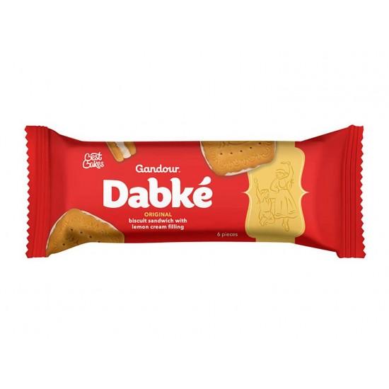 Gandour Dabke Original Biscuit Sandvicwith Lemon Cream Filling 6 Pieces