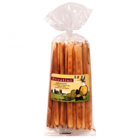 Stiratini Grissini Breadsticks with Olive Oil (250 gr)