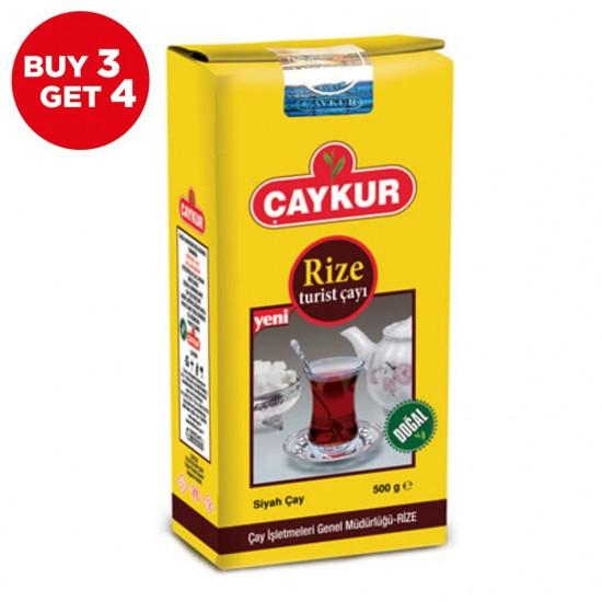 Caykur Rize Turkish Black Tea (4 x 500 gr) [BUY 3 GET 4]