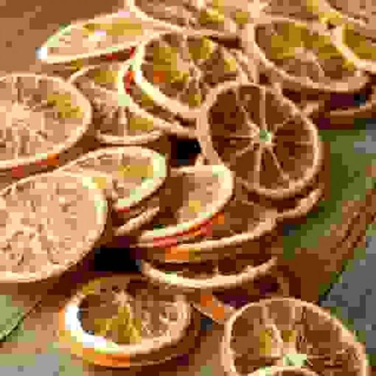 Organic Dried Orange from Turkey with Air Cargo (50 gr)