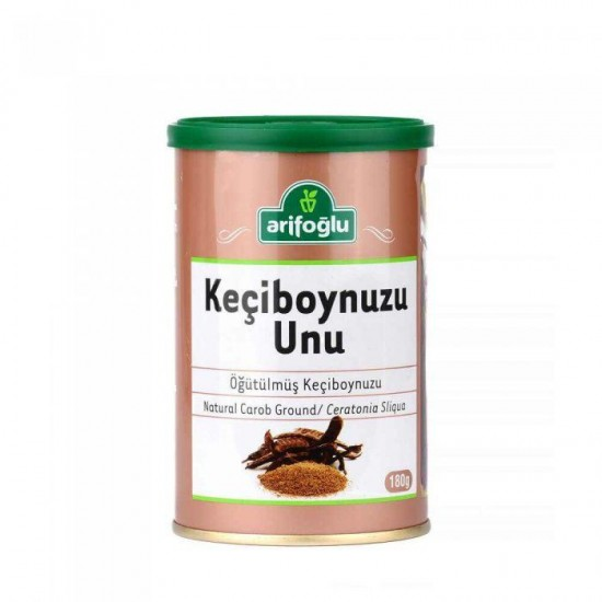 Arifoğlu Ground Carob Flour (180 gr)
