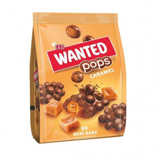 Eti Wanted Pops Caramel 9 Mini Bars (126 gr)