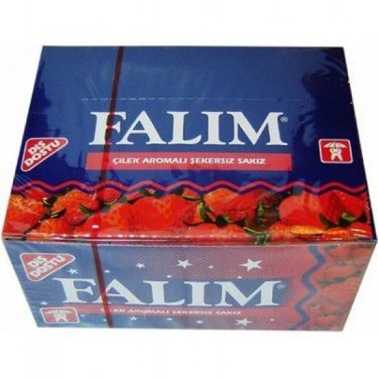 Falim Strawberry Gum (100 pcs)