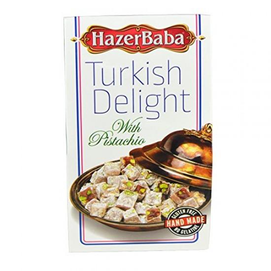 Hazerbaba Turkish Delight Pistachio (100 gr)
