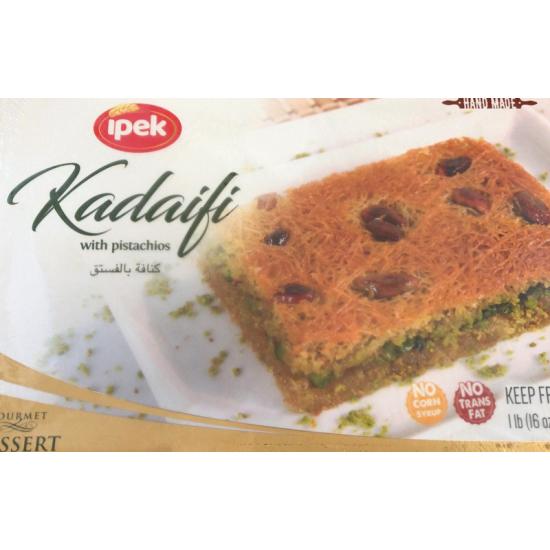 Ipek(Seyidoglu) Kadayıf (454gr) with Pistachios