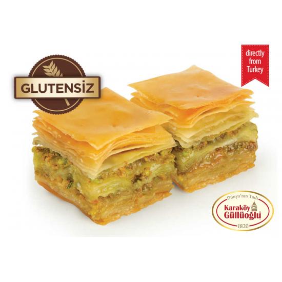 Karakoy Gulluoglu Gluten Free Baklava with Pistachio (500 gr)