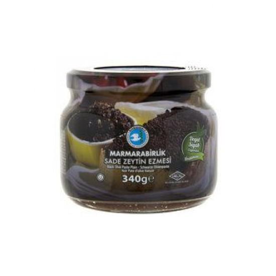 Marmarabirlik Black Olive Paste-Plain (340 gr)