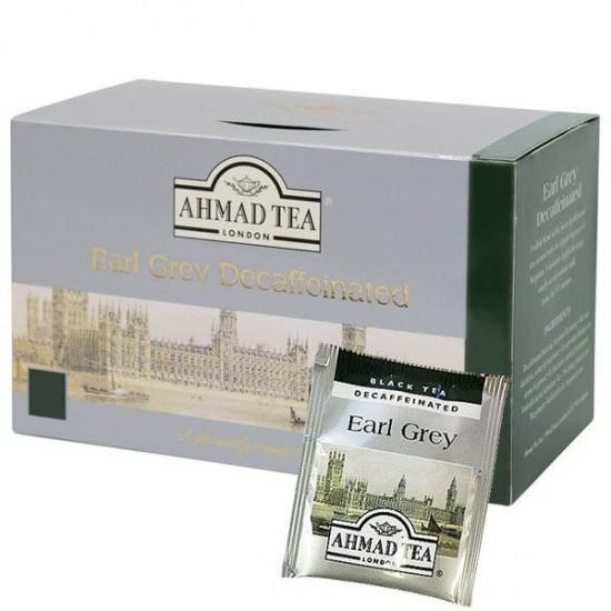 Ahmad Earl Grey Tea Decaffeinated 50 Teabags 4.41 oz. (125 g)