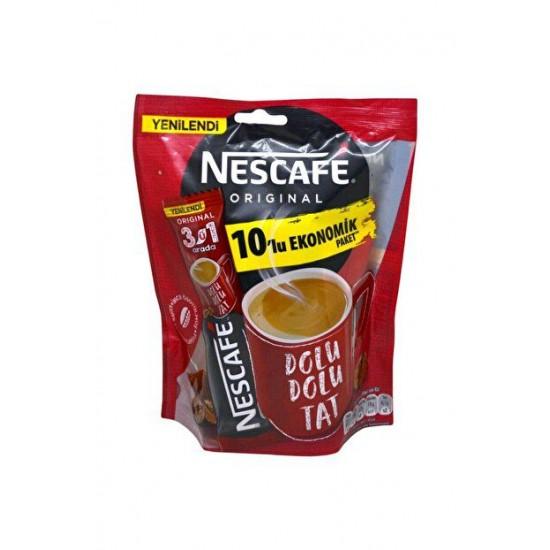 Nescafe Original Economic Pack of 10 (175 gr)