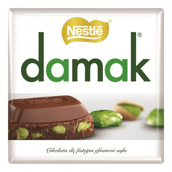 Nestle Damak Chocolate with Pistachio (65 gr)