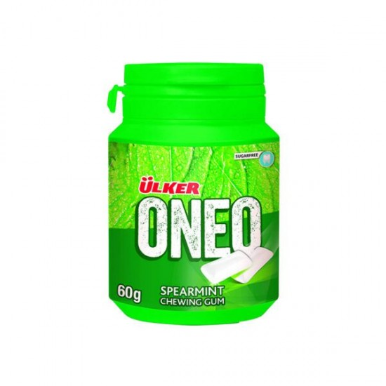 Ulker Oneo Spearmint Chewing Gum (60 gr)