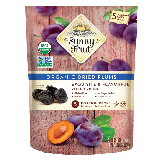 Sunny Fruit Organic Dried Plum (150 gr)
