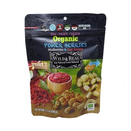 Wild&Real Organic Dried Power Berries (100 gr)