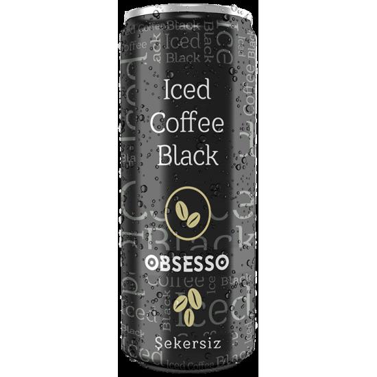 Dimes Obsesso Iced Coffee Black Sugar Free (250 ml)