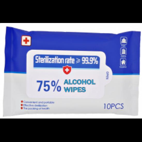 Sterilization Wet Wipes (10 pcs pack)