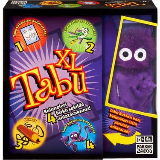 Taboo XL in Turkish Language (from Turkey)