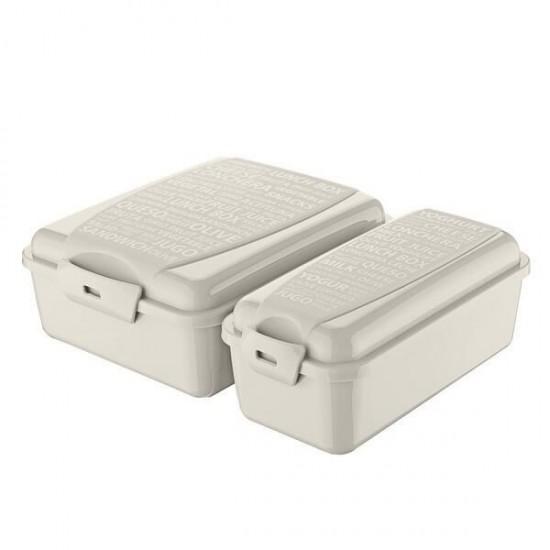 Titiz Takeaway Lunch Box Set Cream