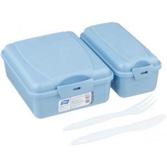 Titiz Takeaway Lunch Box Set Blue